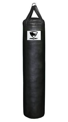 Prolast UNFILLED 5FT Boxing MMA Heavy Punching Bag Black Color