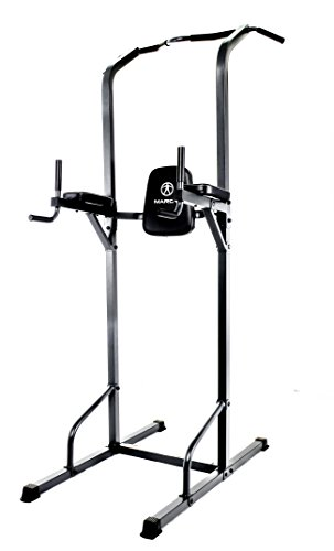 Marcy Power Tower Multi-Grip Pull Up & Dip Station VKR Home Gym TC-3515