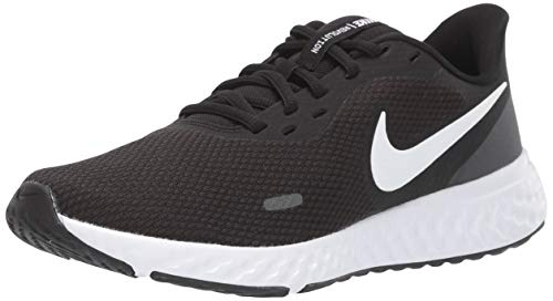 Nike Women's Revolution 5 Running Shoe, Black/White-Anthracite, 8.5 Regular US