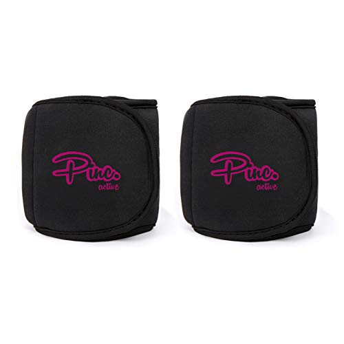 Healthy Model Life Ankle Weights Set, 2 x 1 lbs Cuffs