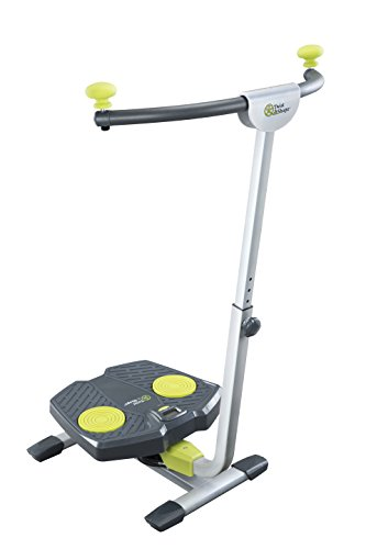 Twist & Shape Abs Trainer, Green/Silver