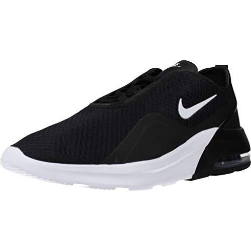 Nike Mens Air Max Motion 2 Fitness Workout Athletic Shoes B/W 10.5 Medium (D) Black/White