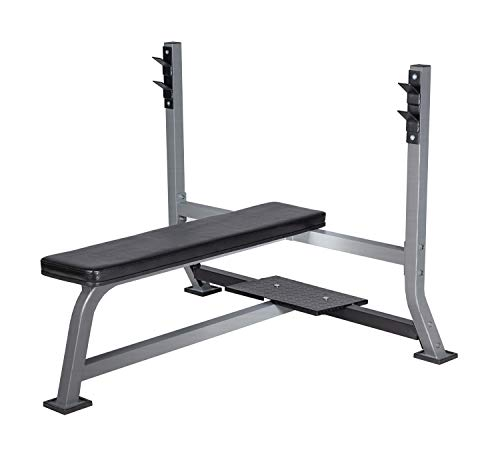 BuyHive Weight Bench Set Workout Bench Press Weight Lifting Full Body Workout Home Gym Strength Training