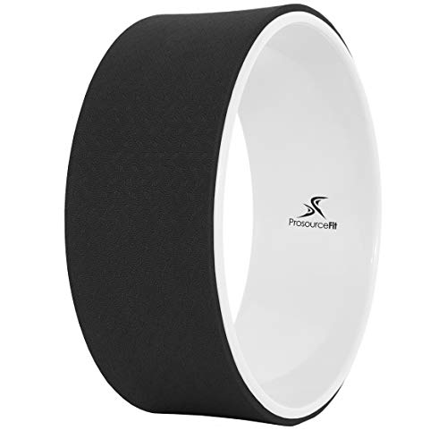 ProsourceFit Yoga Wheel - Black/White