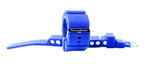 Wrist Weights for Arms/Toning/Cardio, Adjustable, Deep Blue