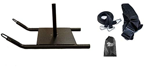 Power Speed Sled w/Harness Weighted Drag Sport Football