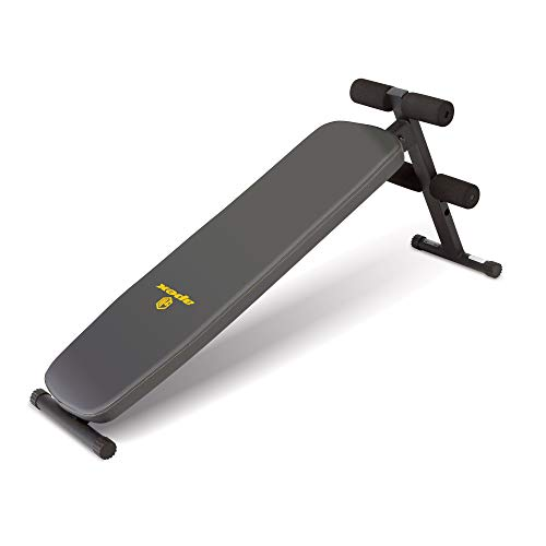 Apex Utility Bench Slant Board Sit Up Bench Crunch Board Ab Bench for Toning and Strength Training JD-1.2