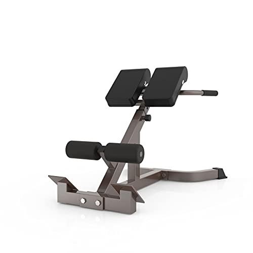 Bench Roman Chair 45 Degree Back Hyper Extension Bench/Back Trainer Machine Adjustable AB Bench for Young Fit Man Fitness Women doing Core Exercise at Home Gym,Ship From USA