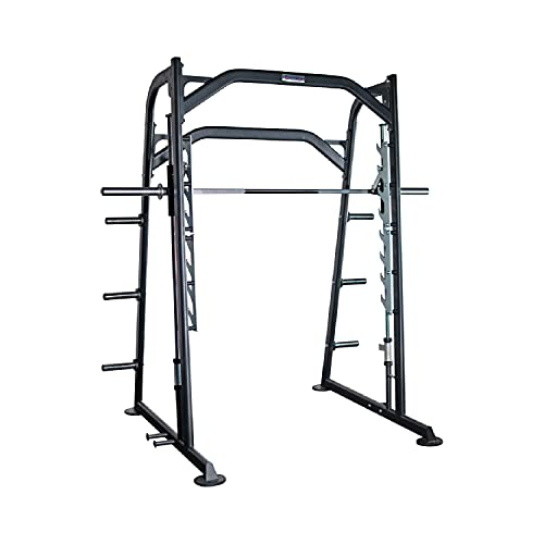 Titan Fitness Smith Machine, Exercise Cage for Weight Lifting and Bodybuilding