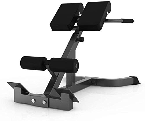 Shirt Luv 45 Degree Back Hyper Extension Bench/Roman Chair Adjustable Height Trainer Back Machine for Young Fit Man Fitness Women Doing Core Exercise at Home Gym