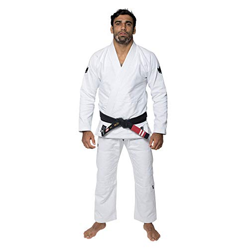 KINGZ IBJJF Mens - The One | Brazilian Jiu Jitsu Gi | White A1