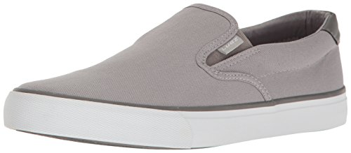 Lugz Men's Clipper Fashion Sneaker, Alloy/Charcoal/White, 12 M US