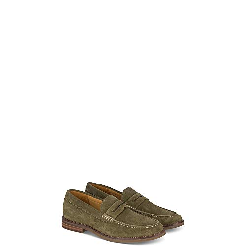 Sperry Top-Sider Gold Cup Exeter Suede Penny Loafer Men 11 Olive
