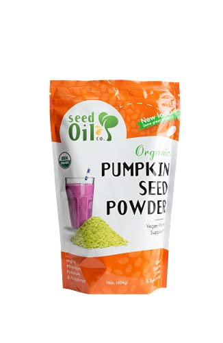 Pumpkin Seed Protein Powder - New Resealable Pouch!