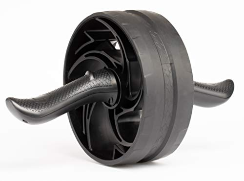 Amazon Basics Abdominal and Core Exercise Workout Roller Wheel - 13 x 8 x 8 Inches, Black