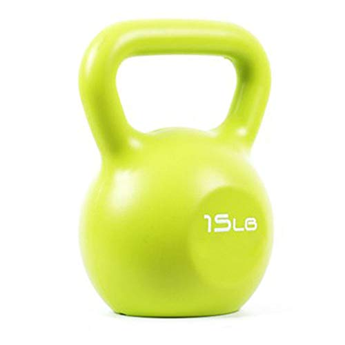 Songyang Fitness Kettlebells Women's Strength Training Dumbbells Home Color Exercise Kettlebells for Full Body Workout, 5lb/10lb/15lb/20lb (15)