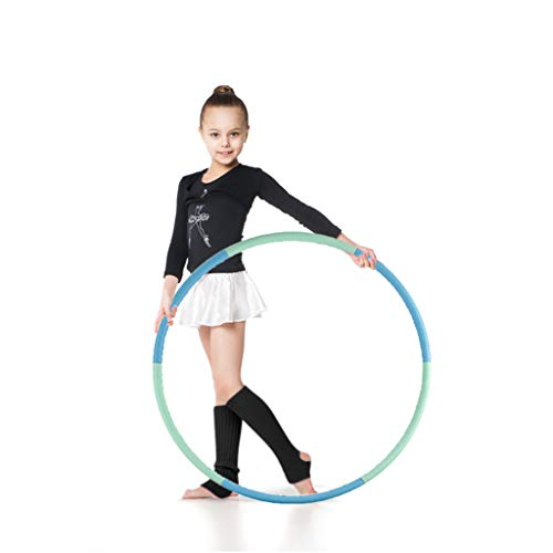 VENSEEN Hoola Hoop for Kids, Detachable Adjustable Weight Size Plastic Kid Hoola Hoop, Suitable as Toy Gifts, Hola Hoop Game, Indoor & Outdoor Games, Boys & Girls (1)