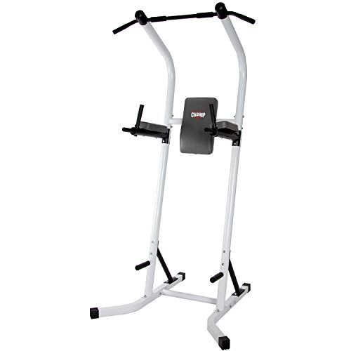 Body Champ Fitness Multi Function Power Tower/Multi Station for Home Office Gym Dip Stands Pull Up VKR/Space Saving PT600