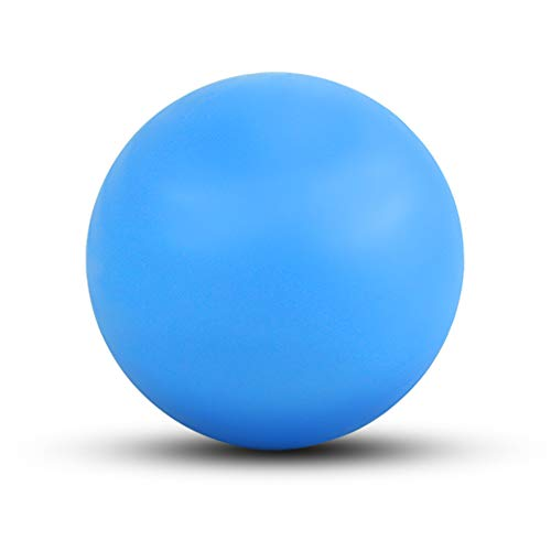 WOVTE Massage Lacrosse Ball for Sore Muscles, Shoulders, Neck, Back, Foot, Body, Deep Tissue, Trigger Point, Muscle Knots, Yoga and Myofascial Release (Blue)