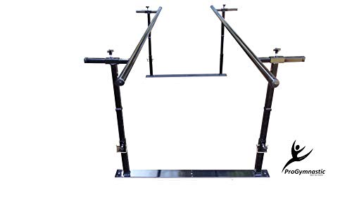 Progymnastic Physical Therapy Parallel Bars - Adjustable Height and Width Model – 5 ft, 7 ft,10 ft & 14 ft. (5)
