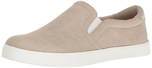 Dr. Scholl's Shoes Women's Madison Fashion Sneaker, Taupe Reptile Print, 7 M US