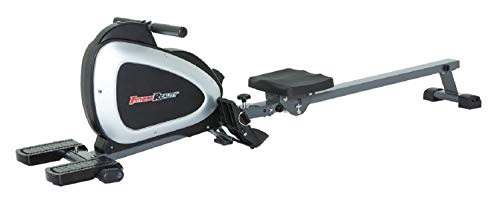 Fitness Reality Magnetic Rowing Machine with Bluetooth Workout Tracking Built-In, Additional Full Body Extended Exercises Included, MyCloudFitness App Compatible