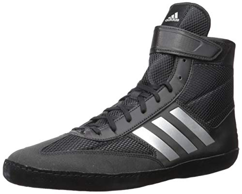 adidas Men's Combat Speed.5, Black/Silver Metallic/Black, 10.5 M US