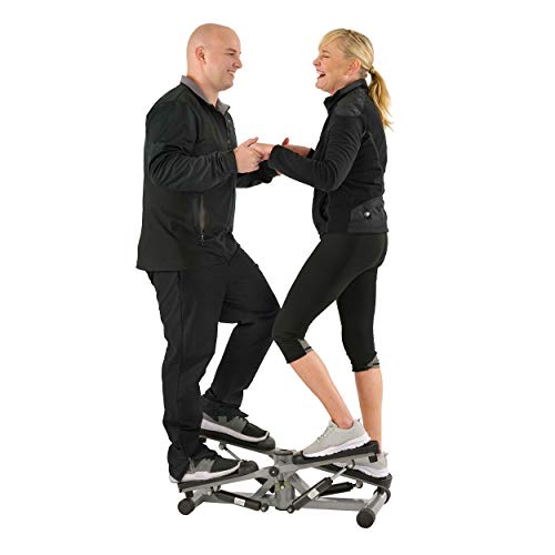 Sunny Health & Fitness Tandem Stepper Step Machine with LCD Monitor - SF-S0855
