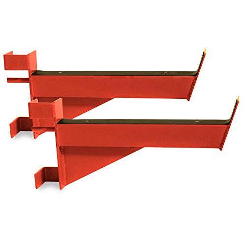CAP Barbell Safety Catches / Spotter Arms for CAP Barbell Power Rack Exercise Stand Series, Red