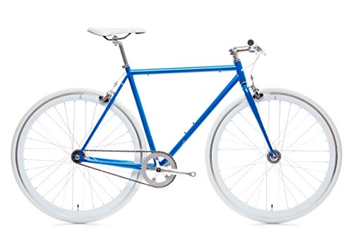 Blue Jay Core-Line State Bicycle | Fixie Single Sped Fixed Gear Bike - Blue Jay Medium (54 cm)