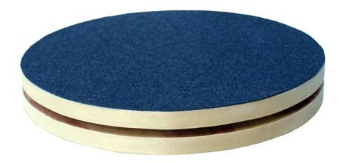 RiversEdge Products Rotational Disc, Twist Board, Birch 11.5' Diameter