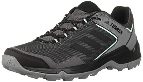 adidas Outdoor Women's Terrex EASTRAIL Hiking Boot, GREY FOUR/BLACK/CLEAR MINT, 8 M US