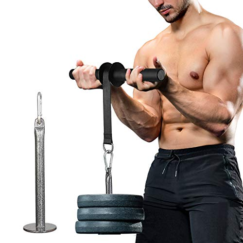 PELLOR Wrist and Forearm Blaster Roller, Grip Build Wrist Exerciser with for Hand Forearm Shoulder Muscle Strength Training
