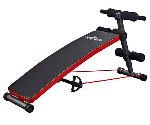 Sit Up Bench Adjustable Workout Foldable Bench Fitness Equipment for Home Gym Ab Exercises New Version