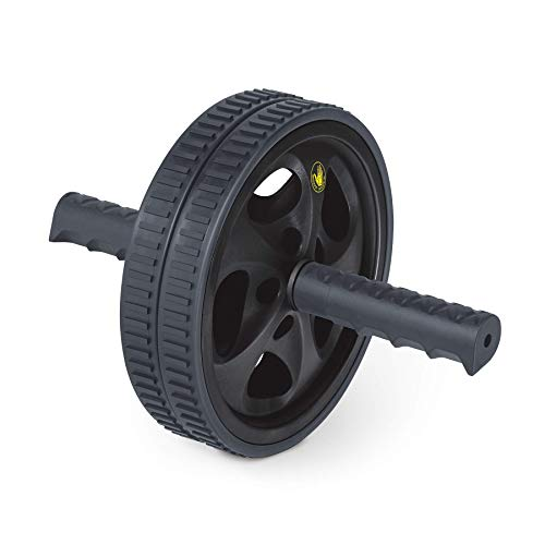 Body Glove Ab Roller for Abs Workout - Ab Roller Wheel Exercise Equipment - Ab Wheel Exercise Equipment - Ab Wheel Roller for Home Gym - Ab Machine for Ab Workout - (Black, Grey)