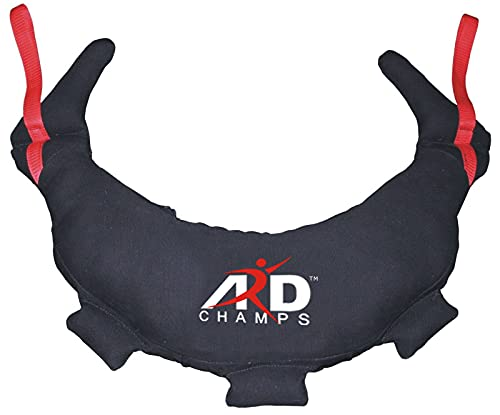 ARD CHAMPS Fitness Gym Strengthen Workout Sand Bag Bulgarian 5 to 28 KG Canvas (12)