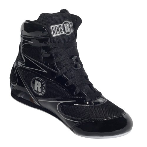 Ringside Diablo Wrestling Boxing Shoes, 9, Black