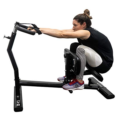 Valor Fitness CA-32 Back Stretch Machine with Adjustable Grip Handles and Safety Wrist Wraps – Improves Mobility and Reduces Muscle Pain and Soreness