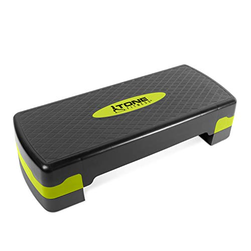 Tone Fitness Aerobic Step, Yellow | Exercise Step Platform