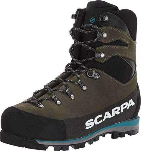 SCARPA Grand Dru GTX Waterproof GORE-TEX Hiking Boots for Mountaineering and Backpacking - Forest - 9.5-10