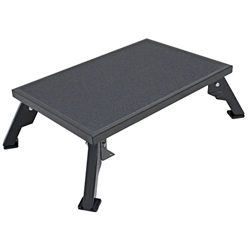 Quick Products JQ-S150 Platform Step, X-Large - Steel, Black