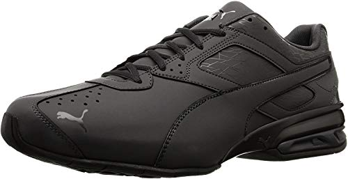 PUMA Men's Tazon 6 Fracture FM Sneaker Black, 11.5 M US