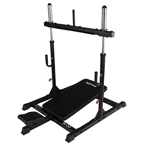 Valor Fitness Vertical Leg Press Machine - CC-10 Home Gym Squat Machine Strengthens and Tones Glutes, Hamstrings, and Calves