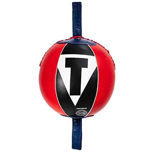 Title Boxing Rebounder Double End Bag, Red/Black