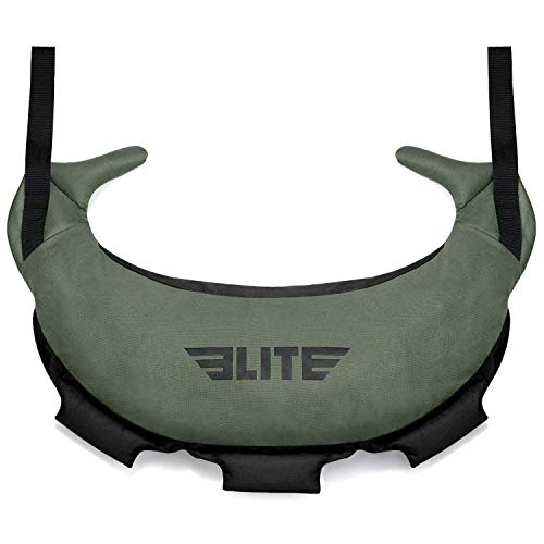 Elite Sports Bulgarian Canvas Bag for Crossfit, Fitness Canvas MMA Gym Cross Training Sandbag
