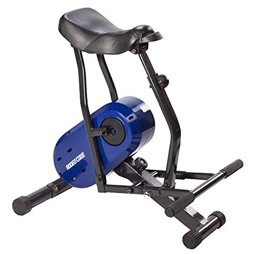 Daiwa Rodeo Core Compact Exercise Equipment For Home Workouts - Full Body Fitness Machine Targets Abs, Legs, & Butt (Blue)