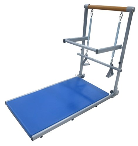 Supreme Toning Tower | All in 1 Pilates and Barre Reformer for Your Home | Tone Arms, Legs, and Core | Fully Assembled Light-Weight Steel Frame | Includes DVDs and Online Workouts
