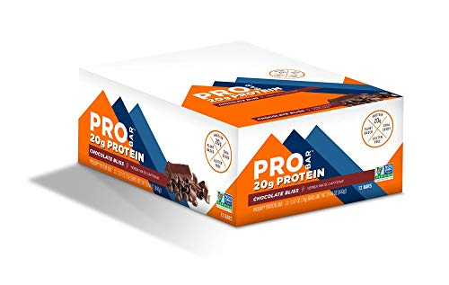 PROBAR - Base Protein Bar, Chocolate Bliss, Non-GMO, Gluten-Free, Healthy, Plant-Based Whole Food Ingredients, Natural Energy (12 Count)