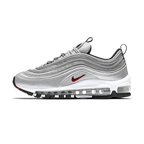 Boys' Nike Air Max 97 QS (GS) Silver Bullet 918890 001 Running Shoe Size 6.5Y