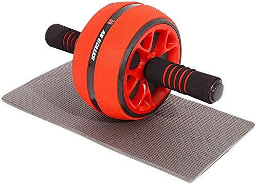 Ab Roller Wheel, Abdominal Exercise Trainer for Core Workout,Ab Roller Wheel Exercise Equipment,for Home Gym Office, with cushion, Men and Women.